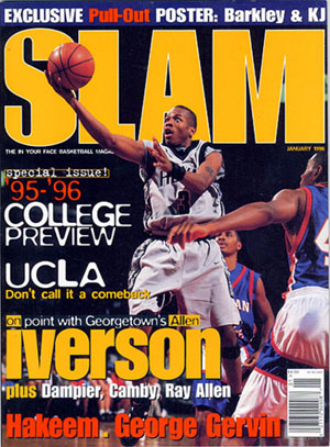Allen Iverson on Slam Magazine