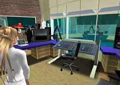 "Public Radio Show ""The Infinite Mind"" in Second Life (by Pathfinder Linden)"