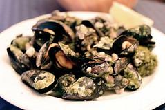 mussels a la plancha