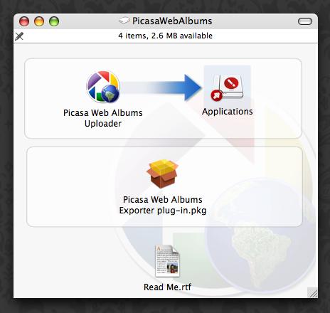 Picasa Mac Uploader