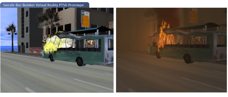 Suicide Bus Bomber Virtual reality PTSD Prototype