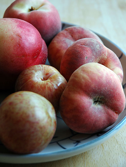 Pluots and donut peaches