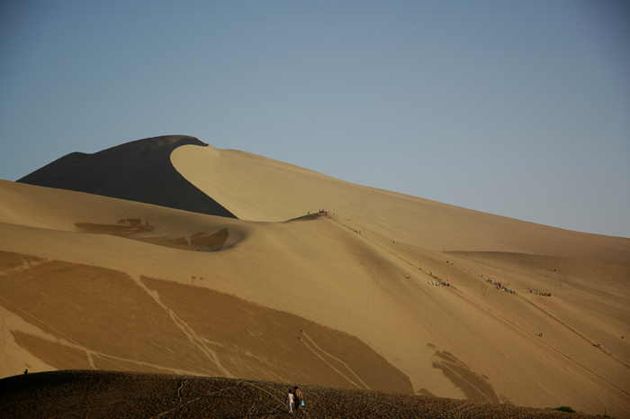 壯闊的鳴沙山