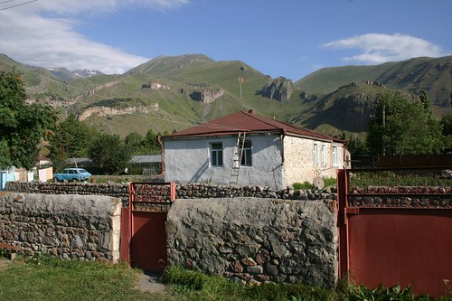 Arsha village near Kazbegi, Georgia.