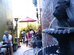 the Echo patio