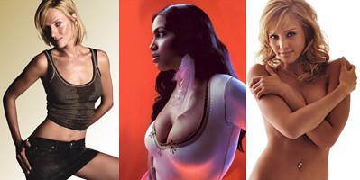 Fotos de actrices sexys - Uma Thurman - Jessica Alba - Rosario Dawson