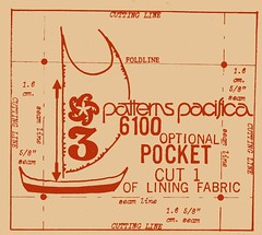 Polynesian bag pocket