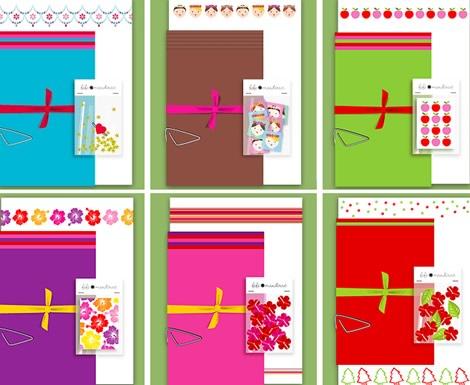 Lillibulle Blog + Fifi Mandirac Stationery