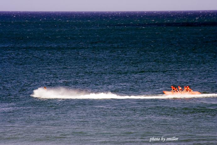 風吹沙海域新闢景點的水上活動