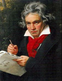 Beethoven Stieler Portrait