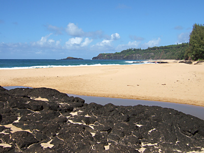 Secret Beach, Kilauea