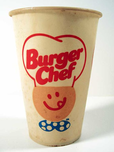 Burger chef paper cup originally uploaded by neato coolville
