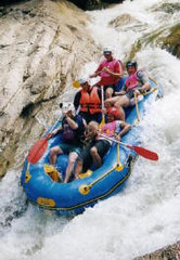 White Water Rafting At Sungai Sedim