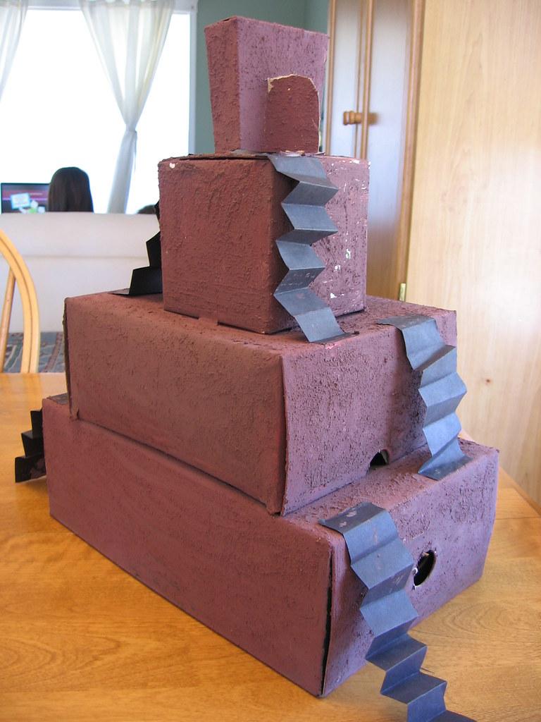 how to make a ziggurat