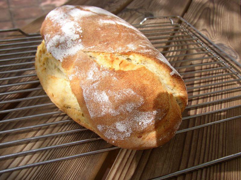 Nachgebacken: Rustikales Kartoffelbrot