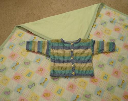vauvanpeitto ja takki