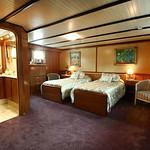 Spacious cabin aboard C'est la Vie