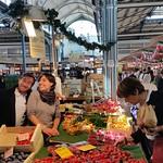 Les Halles market in Dijon