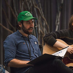 First rehearsal for THE HUNTER AND THE BEAR at Writers Theatre. Photo by Joe Mazza—brave lux.