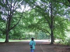 Paseo matutino por el Tiergarten