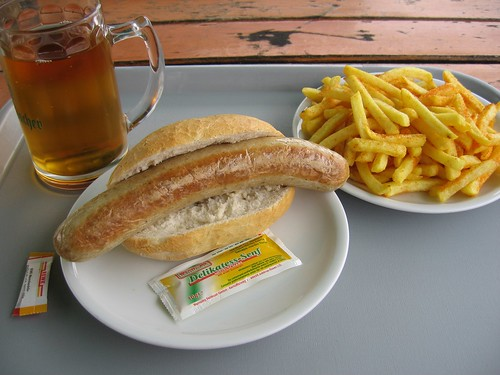 brat and pomme frites