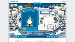 Club Penguin Game: Hockey
