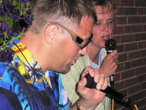 1cs og cs ved karaoke