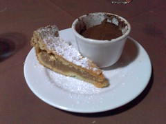 Apple Pie and Tiramisu - in a Chinese tea cup