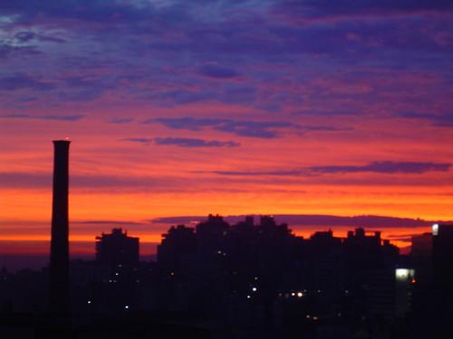Sunrise in Porto Alegre