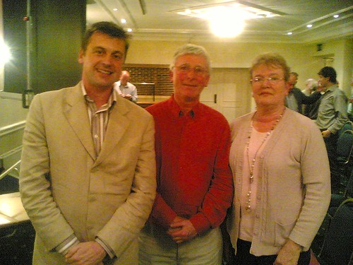 Myself, Professor Geoghan and Cllr Dillon Gallagher at the Forum
