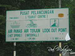 Look Out Point Signboard