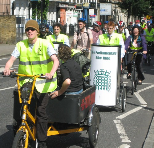 The Parliamentary Bike Ride