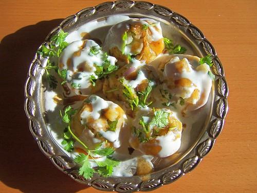 Dahi Poori Chaat