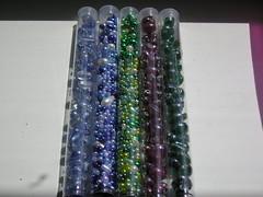 Tubes of Mixed Beads II