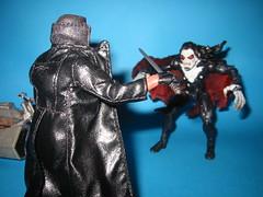 Blade vs. Morbius