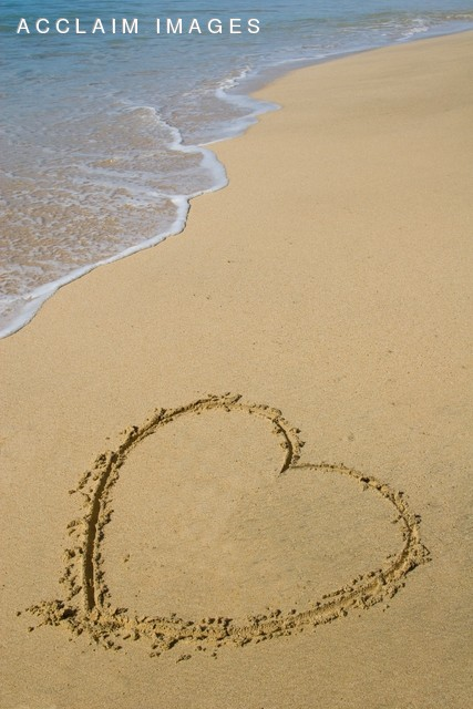 Photo of a Heart in the Sand