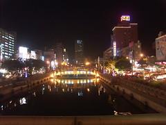 田寮河夜景