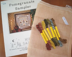 Pomegranate Sampler by Hillside Samplings