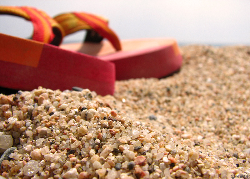 La playa de mármol