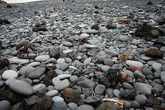 The pebble beach at Djúpalónssandur