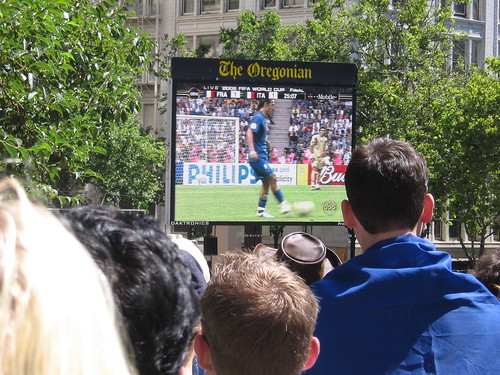 Portland Pioneer Place - World Cup Soccer 2006