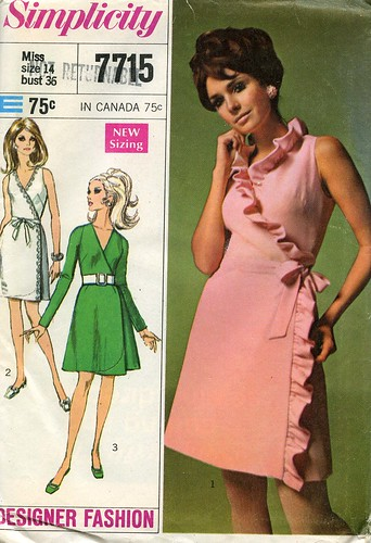 Vintage Dress Pattern, 1968