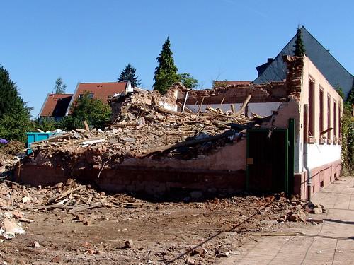Ruine meines alten Elternhauses