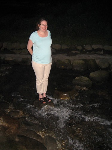 on the stepping stones
