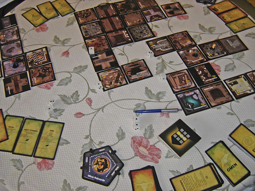 Partida de Betrayal at House on the Hill