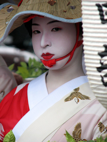 Shijo procession girl