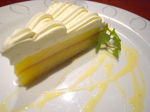 レモンのタルト(lemon-flavored tart)