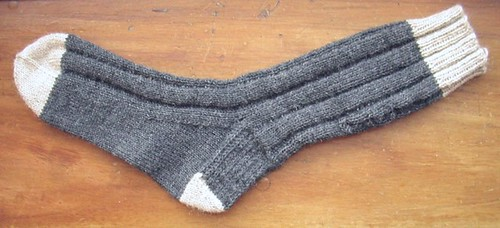 first country sock done