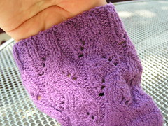 Squish sock detail