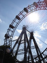 Ferris Wheel at the Prater, Vienna